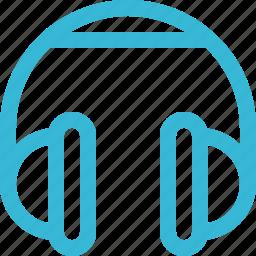audio, earphone, headphone, headphones, listen, music icon