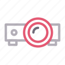 beamer, electronic, presentation, projector, technology icon