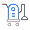 cleaner, cleaning, electronics, hoover, vacuum icon