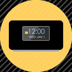 alarm, clock, electronic, gadget, tech, time, wake icon