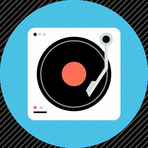 dj, electronic, gadget, mix, music, player, tech icon
