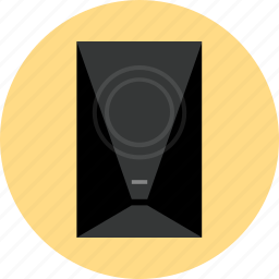 audio, electronic, listen, music, small, speaker, tech icon