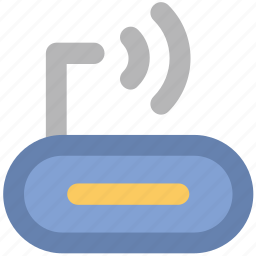 broadband, internet, internet device, router, wifi modem, wireless network, wlan icon