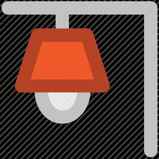 electric light, electricity, light, street lamppost, street lantern, streetlamp, streetlight icon