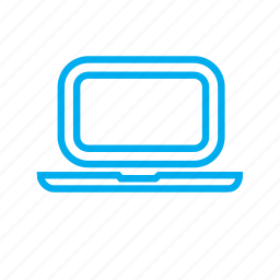 computer, device, gadget, hardware, laptop, screen, technology icon