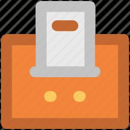 billing machine, billing printer, invoice machine, printer, receipt machine icon