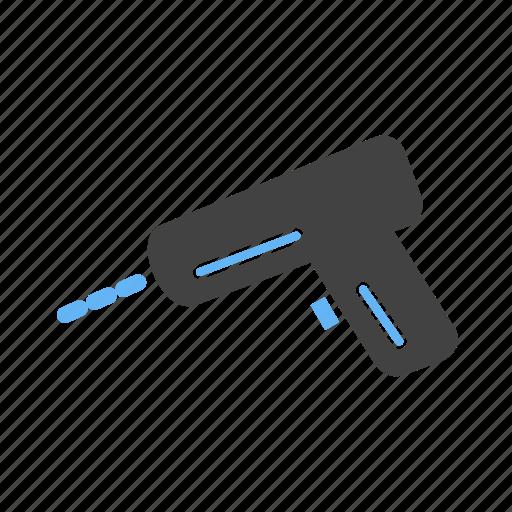 drigger, drill, electronic, machine icon