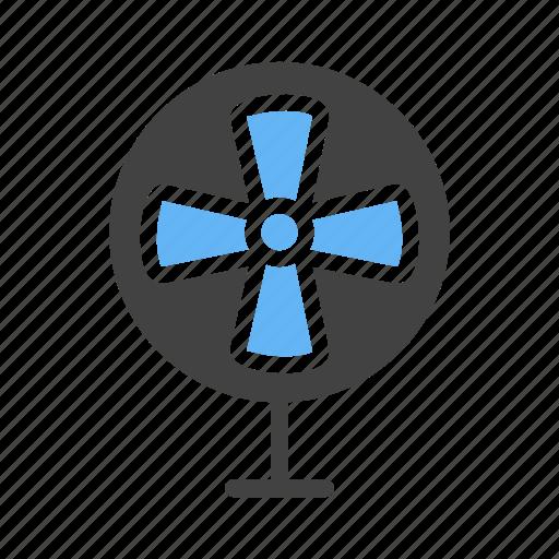 electric, exhaust, fan, pedestal icon