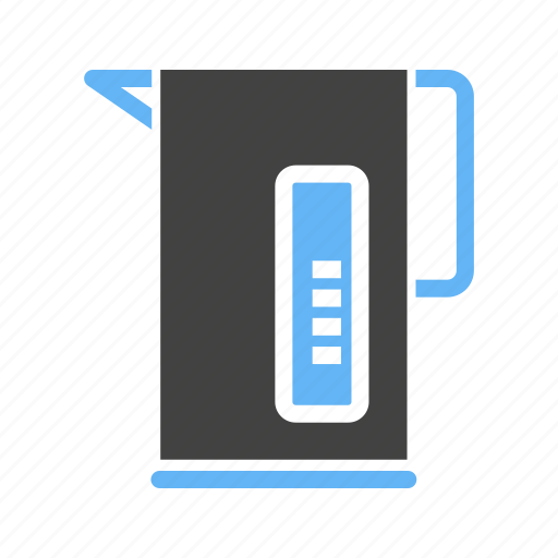 electric, jug, kettle, warmer, water icon