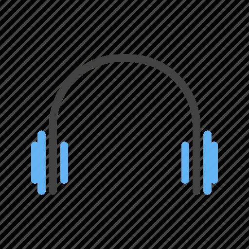 handsfree, headphones, headset, music icon
