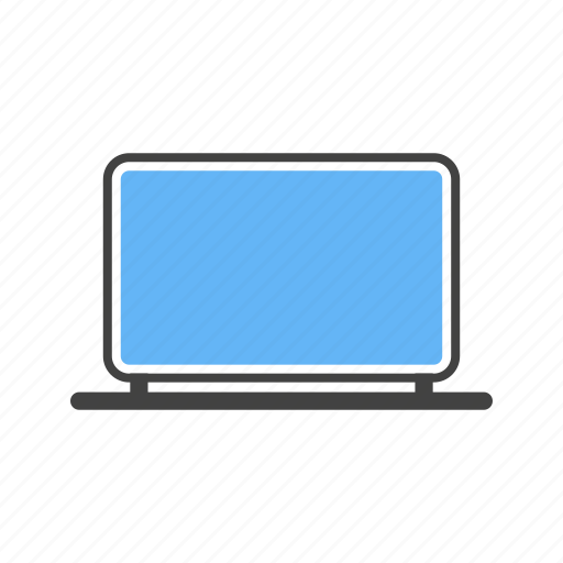 laptop, monitor, pc, system icon