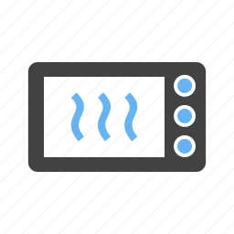 food, heat, microwave, oven icon