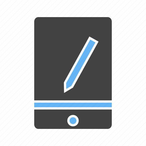 device, pen, phone, smart, tablet icon