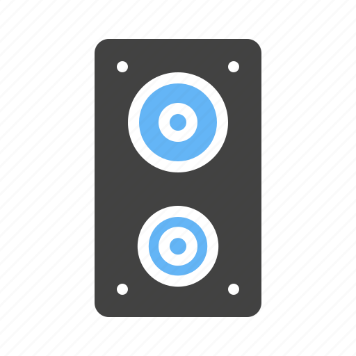 music, sound, speakers, system icon