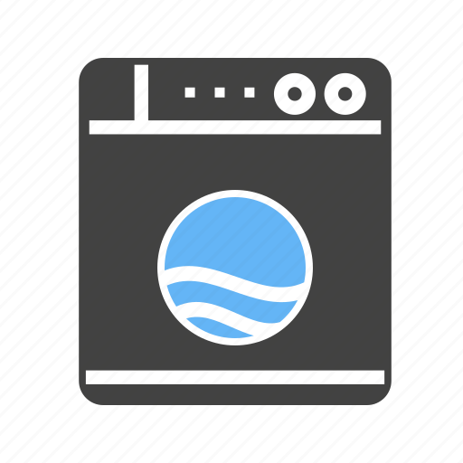 cleaning, clothes, for, machine, washing icon