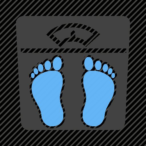 kilograms, machine, pounds, weighing icon