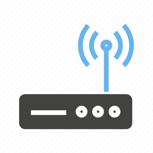 net, router, signals, wifi icon