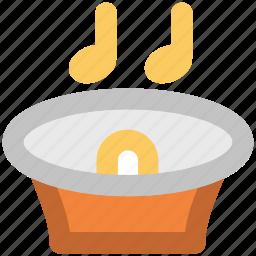 advertising, alert, announcement, audio, loudspeaker, music, sound icon