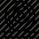 camera, cctv, monitoring, security, surveillance icon