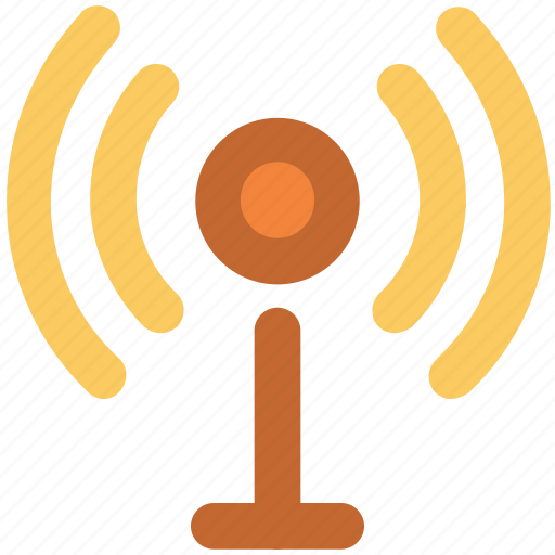 Communication tower, network, signal tower, wifi antenna, wifi tower, wireless antenna, wireless technology icon - Download on Iconfinder