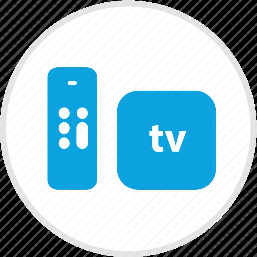apple, electronic, gadget, tv icon