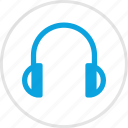 audio, headphones icon