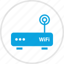 antenna, single, wifi icon