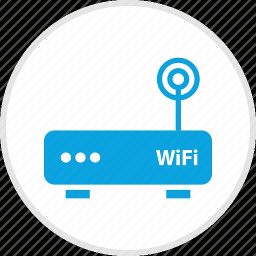 antenna, single, wifi icon