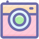 laundry, machine, technology, washing, washing machine icon