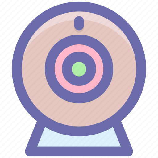 Computer camera, video chatting, video conference, web cam, web camera icon - Download on Iconfinder