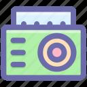 boom box, boombox, cassette player, cassette recorder, radio stereo, stereo icon