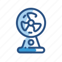 cooler, electronic, fan, ventilator icon