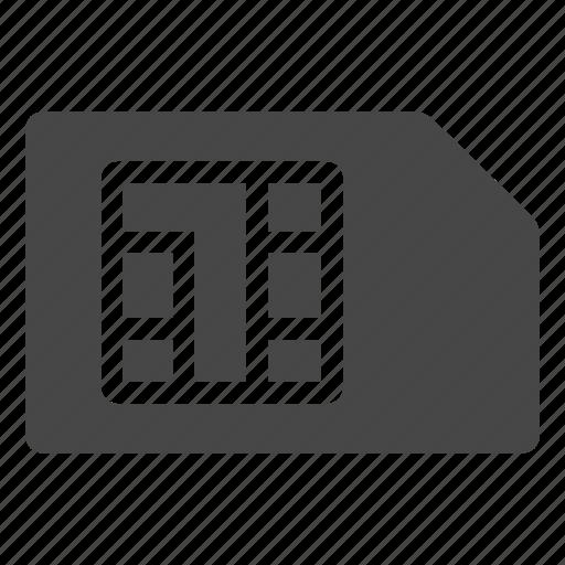 Chip, phone sim, sim, sim card icon - Download on Iconfinder