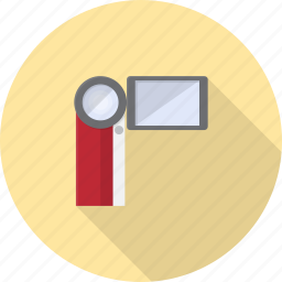 cam, camera, digital, electronics, handy, handycam icon