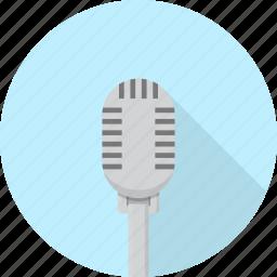 electronics, mic, microphone, music, sound, studio icon