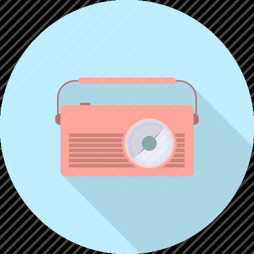 broadcast, broadcasting, electronics, music, radio, sound icon
