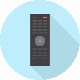 control, electronics, infrared, remote, television, tv icon