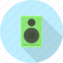 bass, electronics, loudspeaker, music, sound, speaker, stereo icon