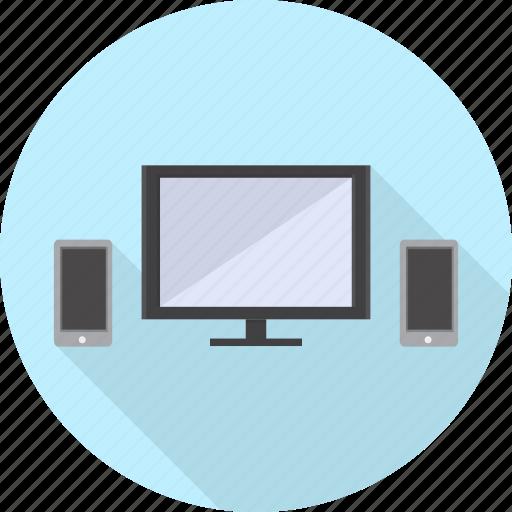 display, electronics, lcd, plasma, tv icon