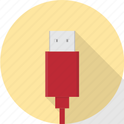 cable, connect, connector, electronics, plug, usb, wire icon
