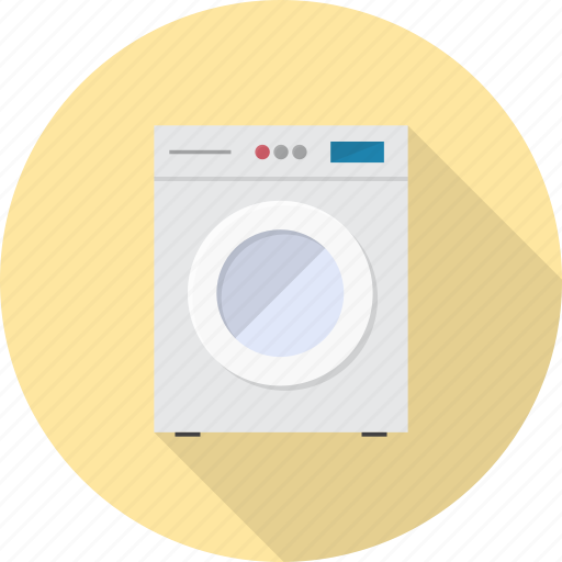 clean, electronics, laundry, machine, wash, washer, washing icon