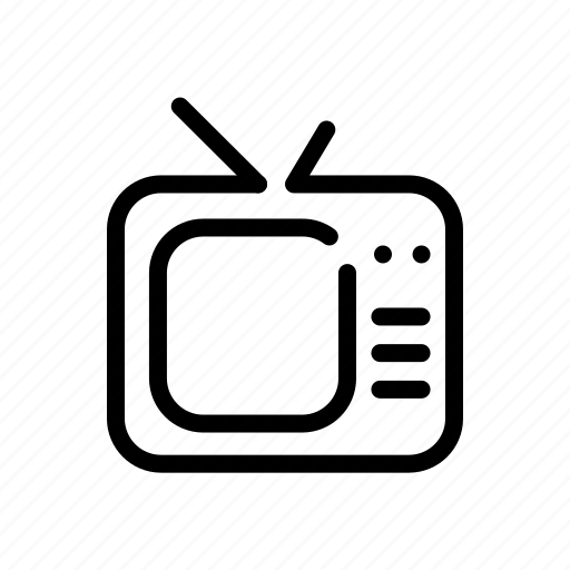 appliance, device, electronic, television icon