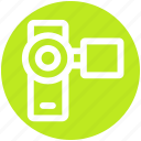 .svg, camcorder, camera, handy cam, video camera, video recording icon