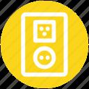 3, electric, energy, outlet, plug, socket, switch plug icon