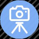 .svg, camera, digital camera, photo shot, photography, picture, tripod camera icon