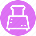 .svg, electricals, electronics, slice toaster, toast machine, toaster icon