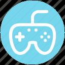 .svg, control, device, electronics, gaming, joystick play