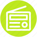 .svg, communication, electronics, media, radio icon