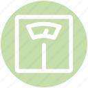 .svg, fitness, meter, scale, weight, weight check icon