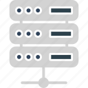 database, network server, server, server connection icon